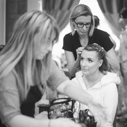 bridal hair and makeup artists