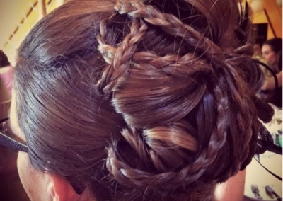 wedding hair warrington